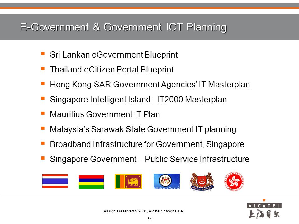 E-Government & Government ICT Planning