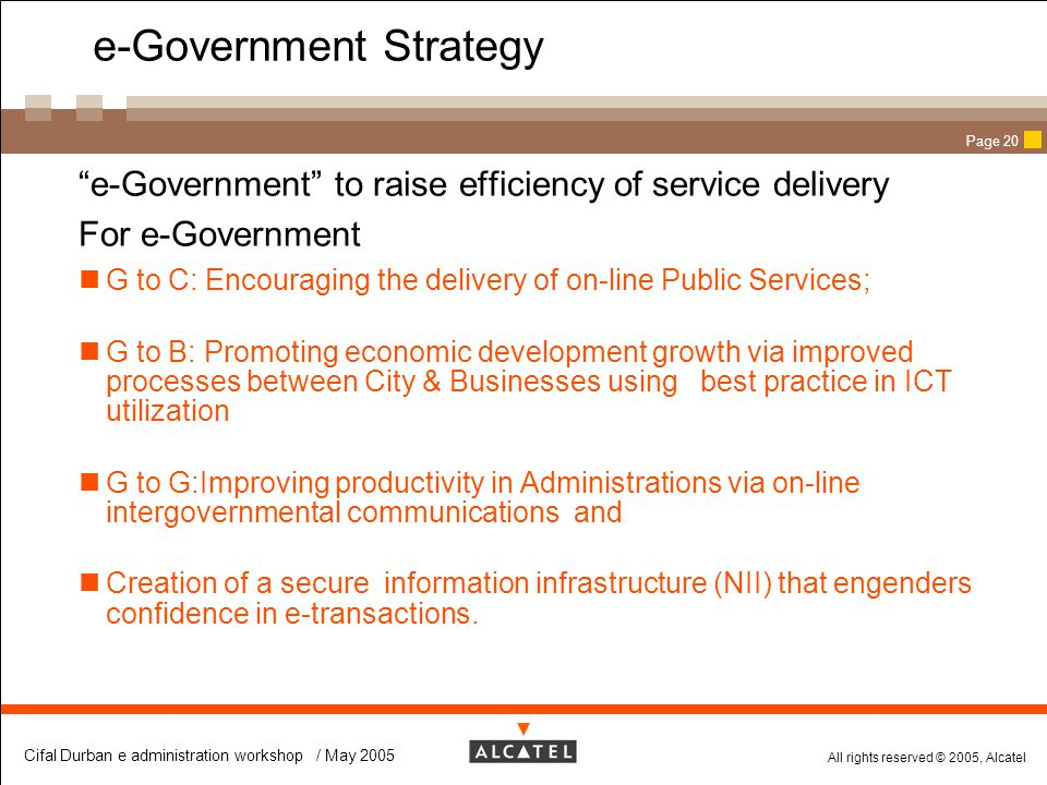 e-Government Strategy