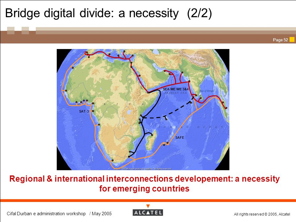 Bridge digital divide: a necessity (2/2)
