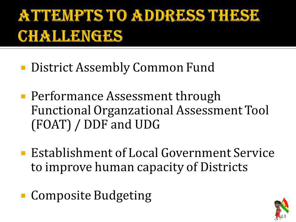 ATTEMPTS TO ADDRESS THESE CHALLENGES
