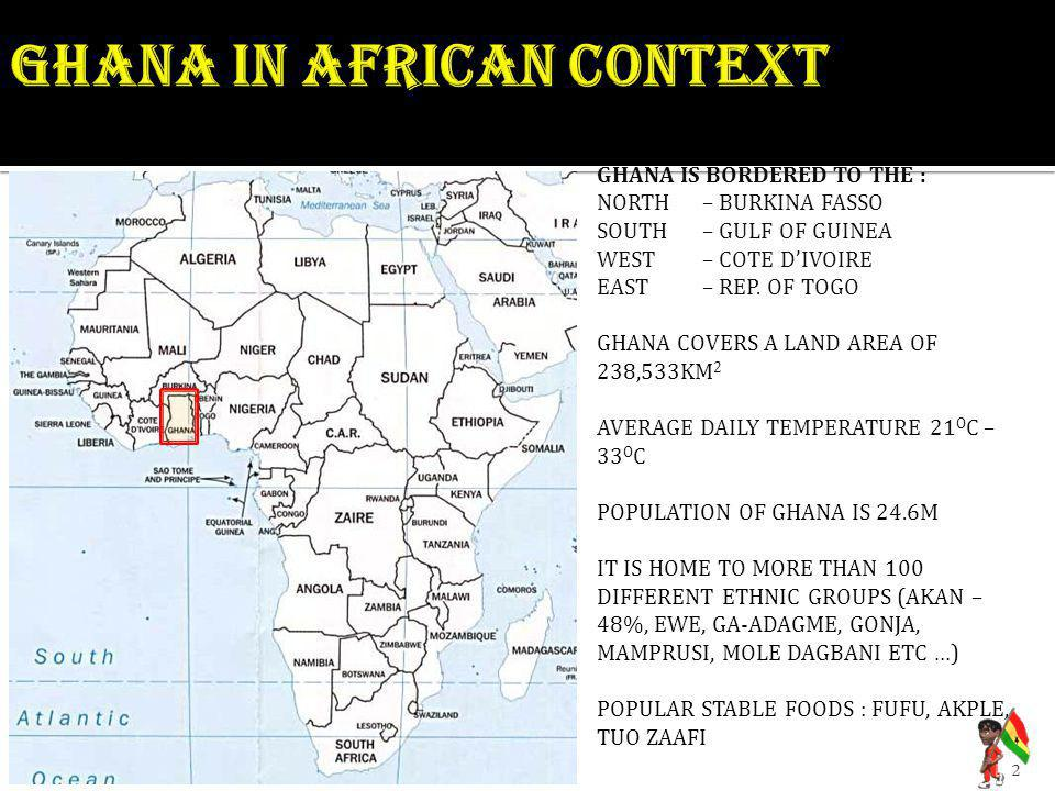 Ghana in african context