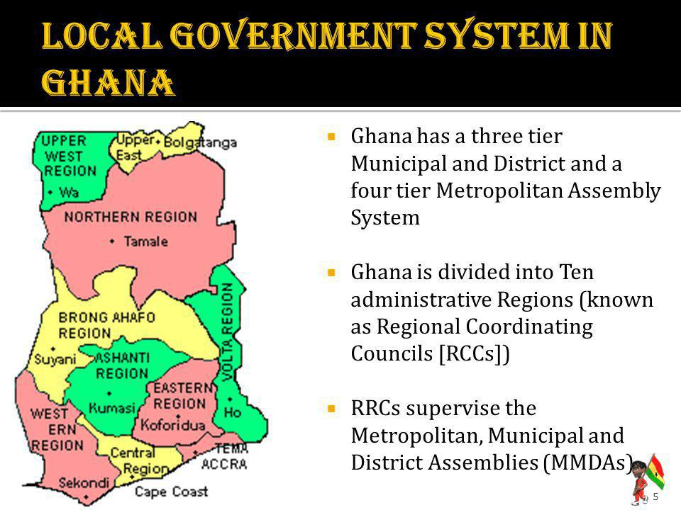 LOCAL GOVERNMENT SYSTEM IN GHANA