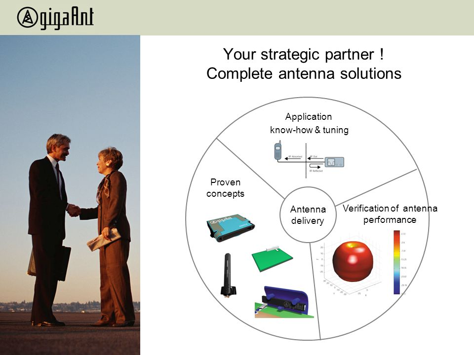 Your strategic partner ! Complete antenna solutions