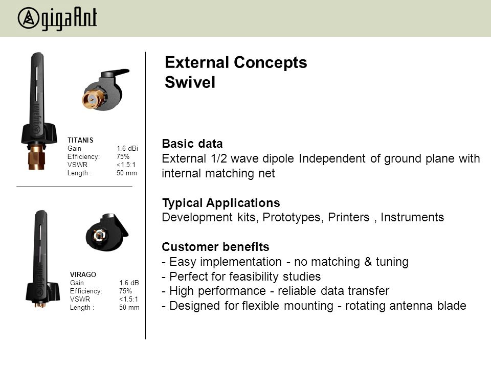 External Concepts Swivel