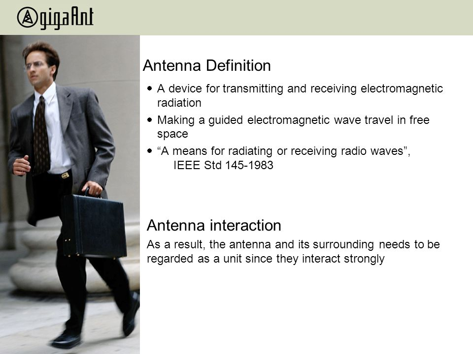 Antenna Definition Antenna interaction