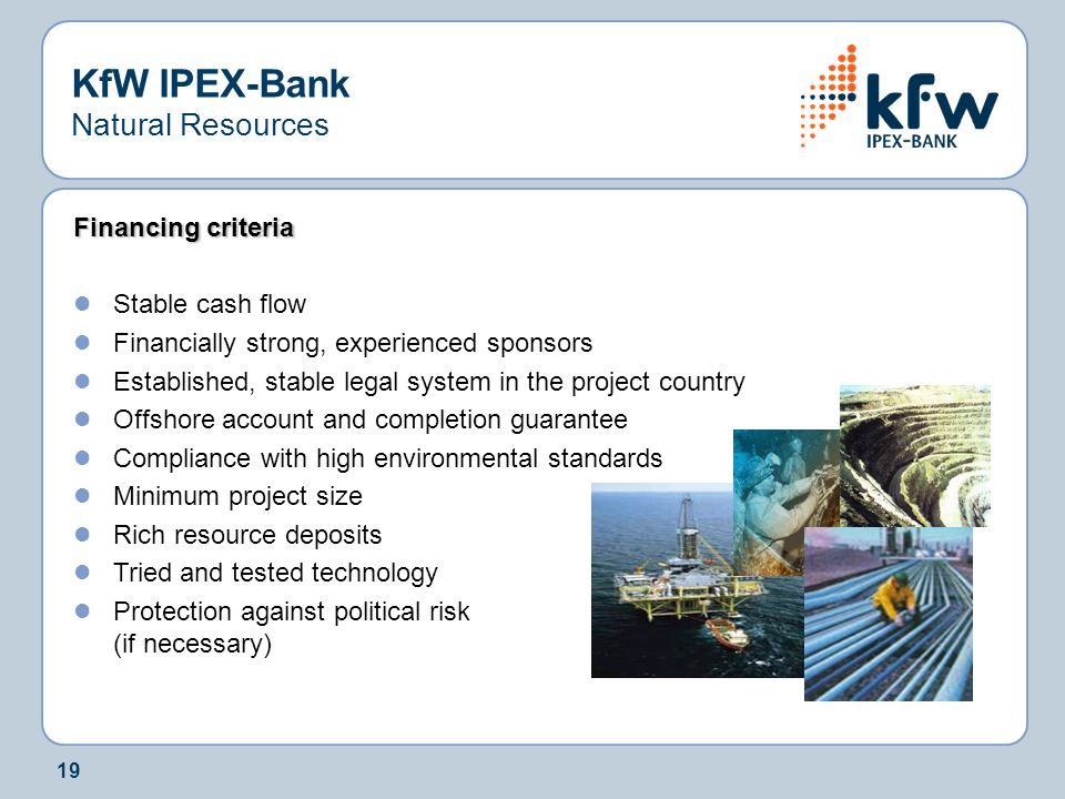 KfW IPEX-Bank Natural Resources