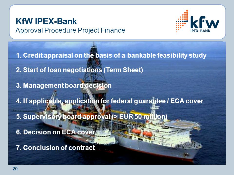 KfW IPEX-Bank Approval Procedure Project Finance