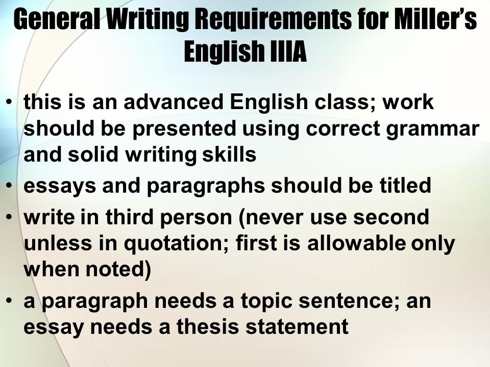 How to write a thesis statement for a response essay