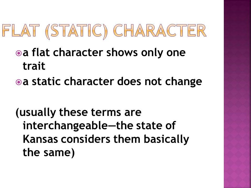 Flat (Static) Character