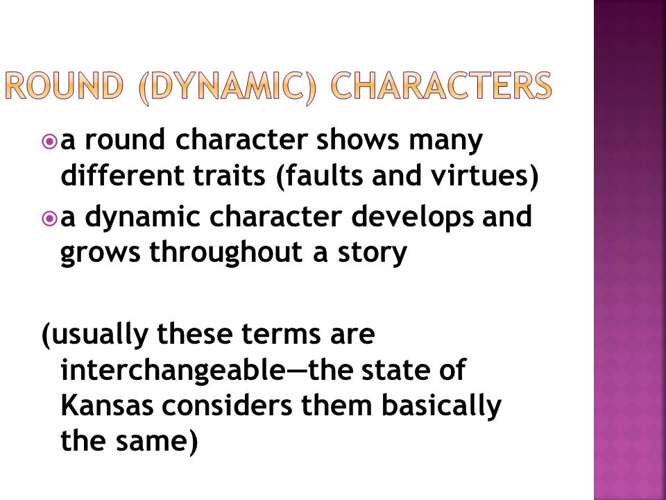 Round (dynamic) Characters