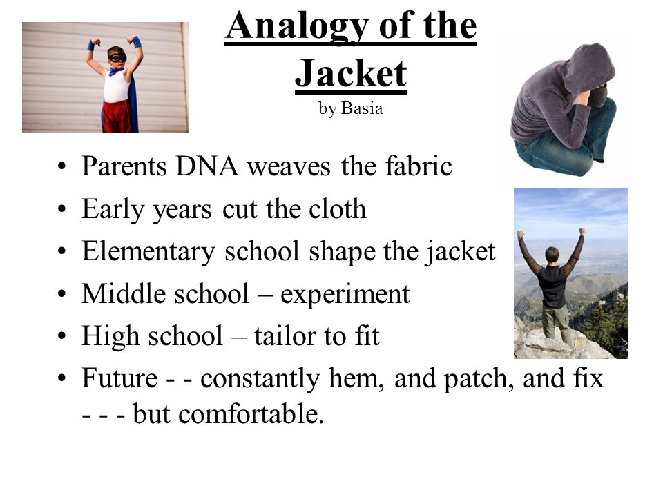 Analogy of the Jacket by Basia