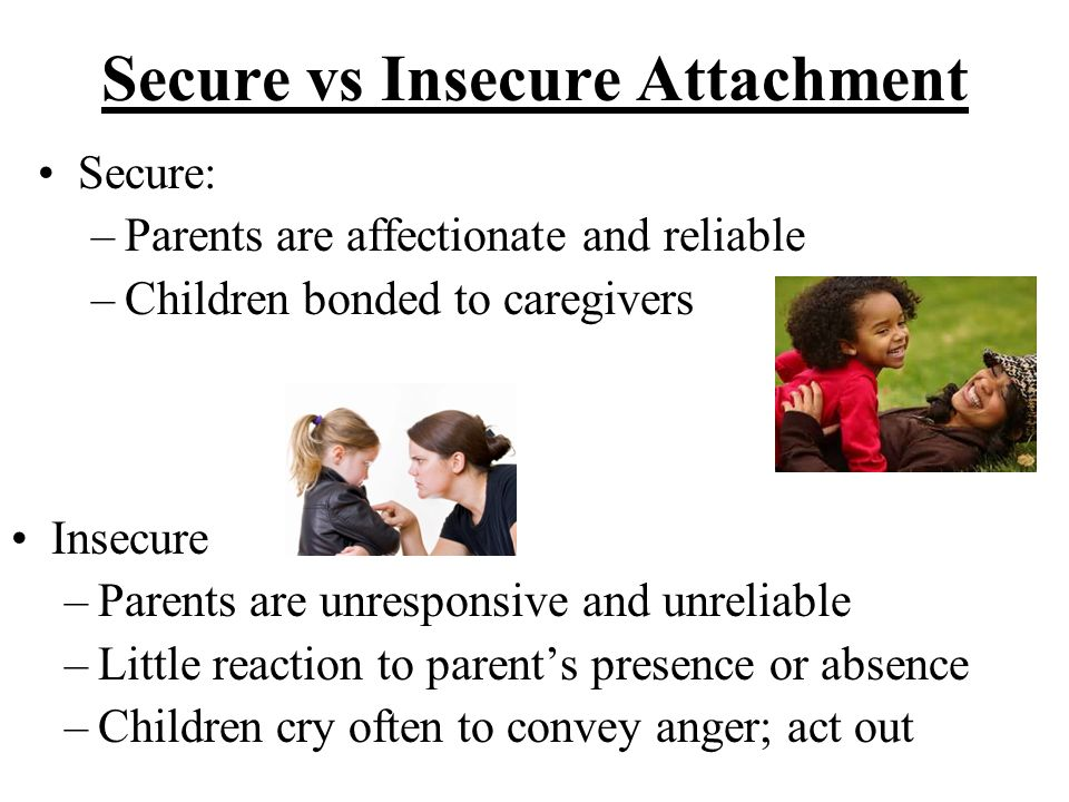 Secure vs Insecure Attachment
