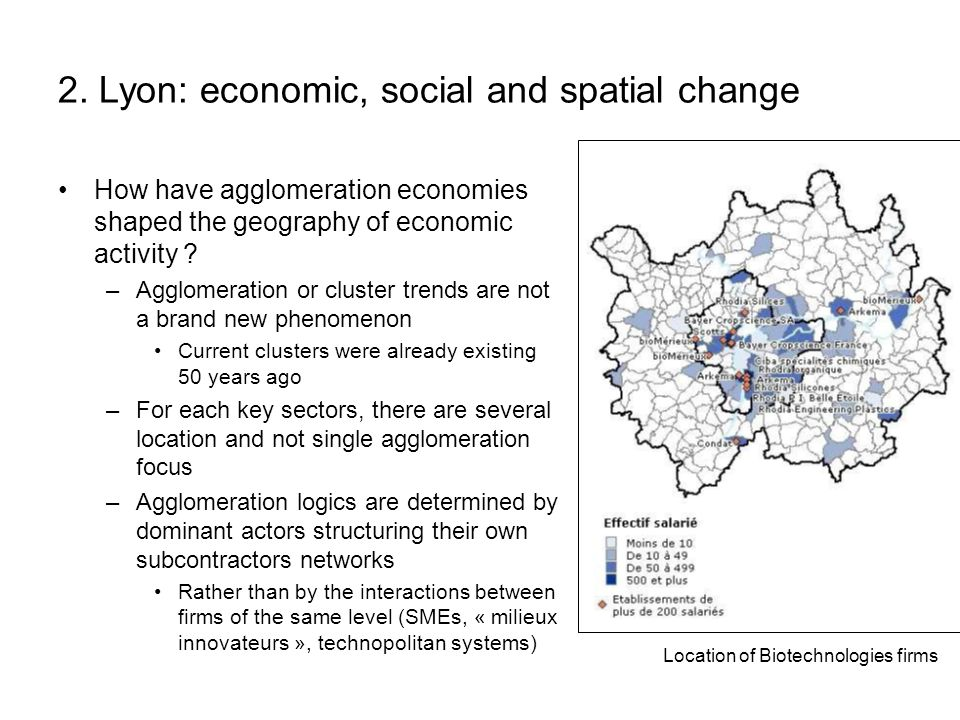 2. Lyon: economic, social and spatial change