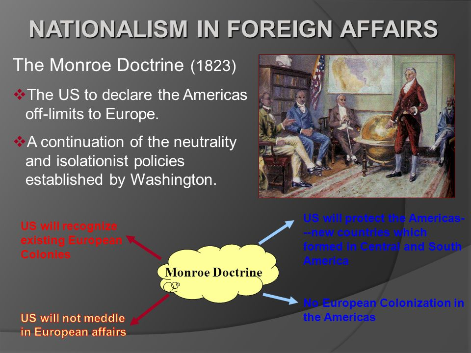 NATIONALISM IN FOREIGN AFFAIRS