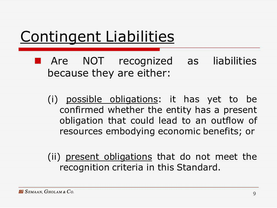 meet liabilities and obligations