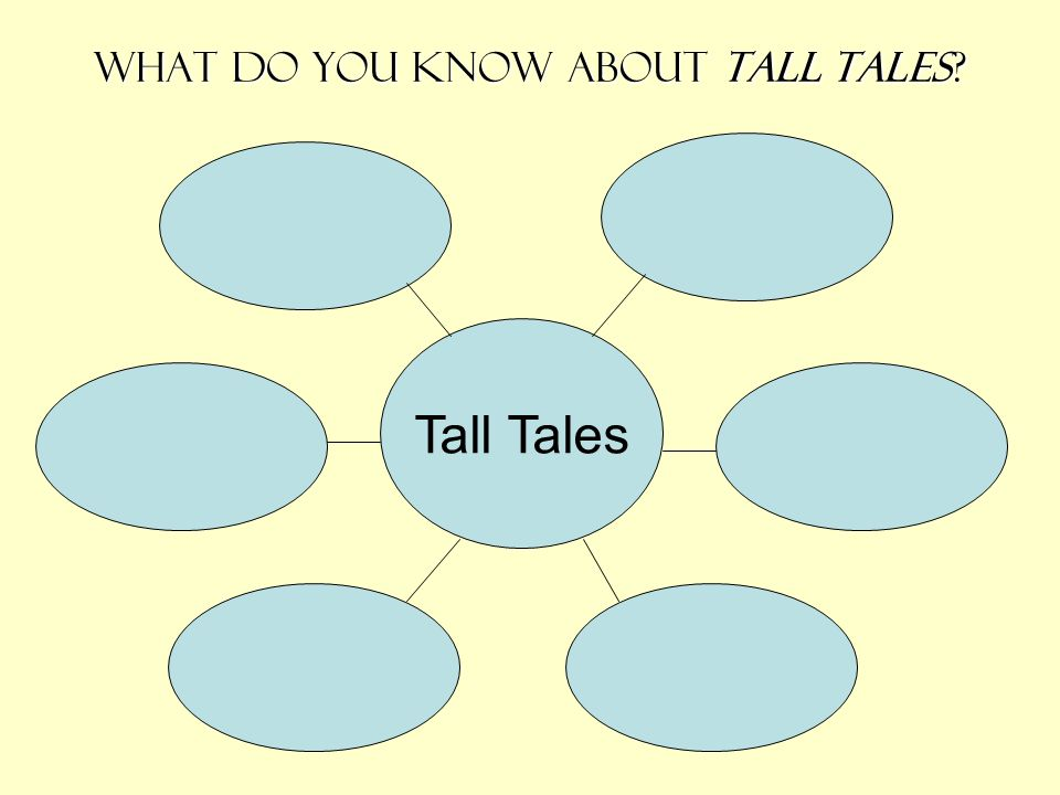 What do you know about tall tales