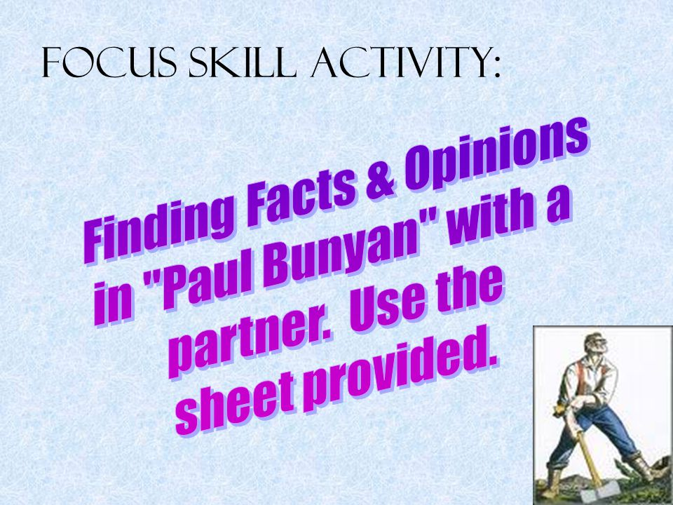 Finding Facts & Opinions