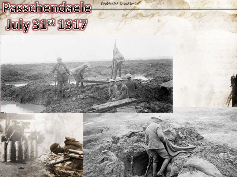Passchendaele July 31st 1917