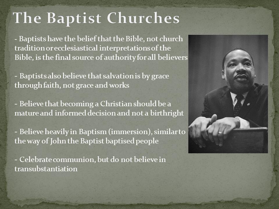 The Baptist Churches