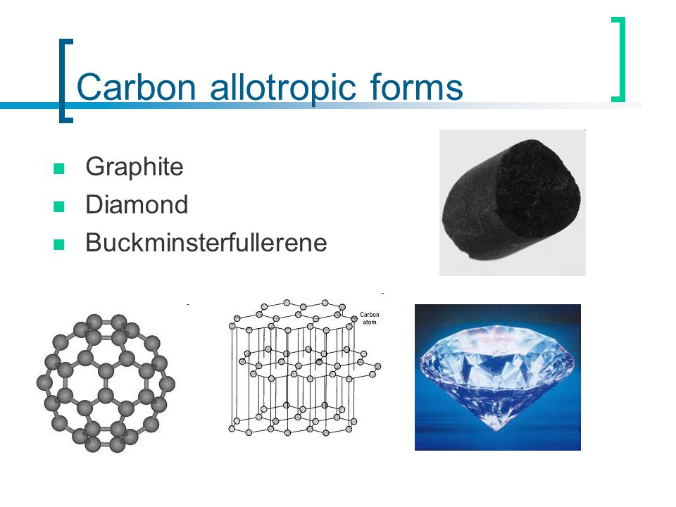 Carbon allotropic forms