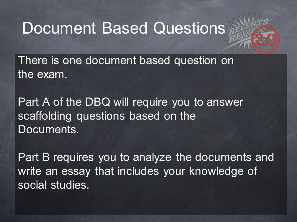 document based essay questions Search this site home the course.