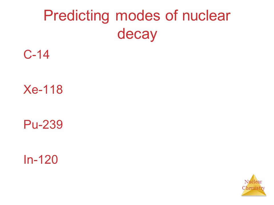 Predicting modes of nuclear decay