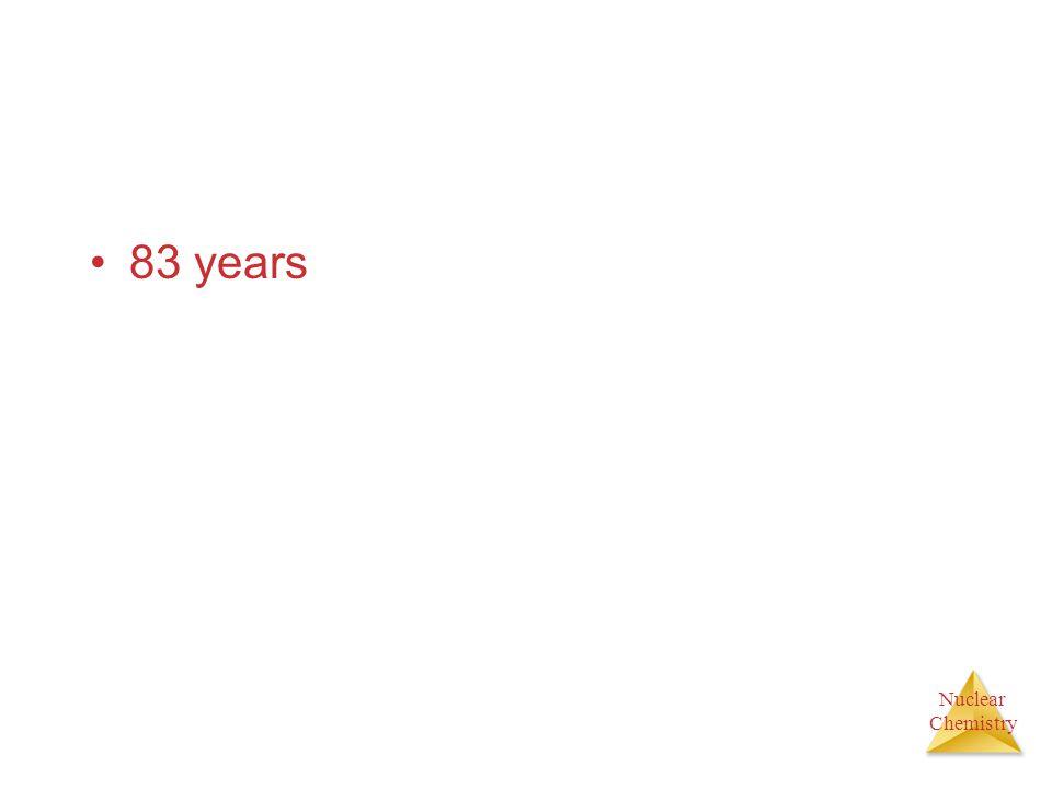 83 years