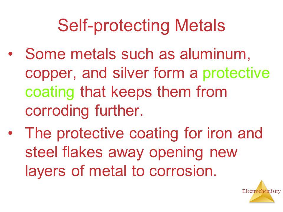 Self-protecting Metals