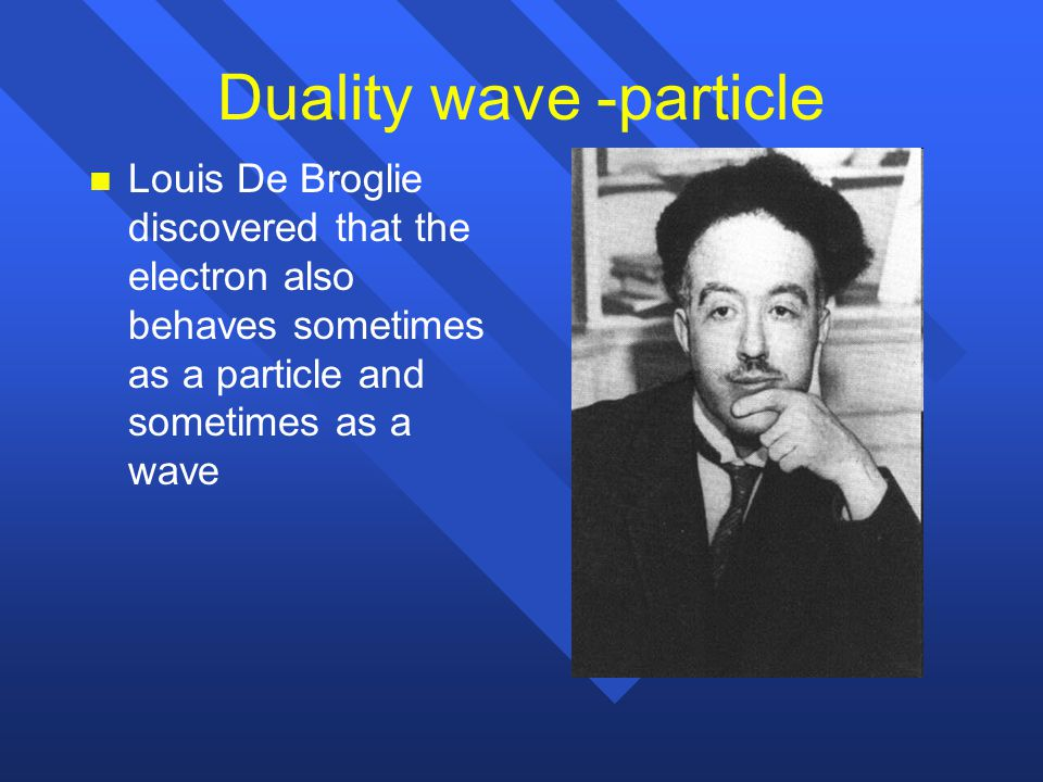 Duality wave -particle