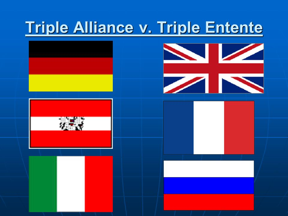 Triple Alliance v. Triple Entente