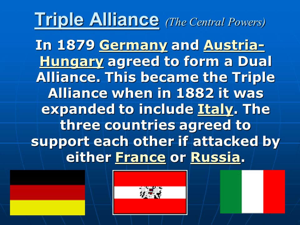 Triple Alliance (The Central Powers)