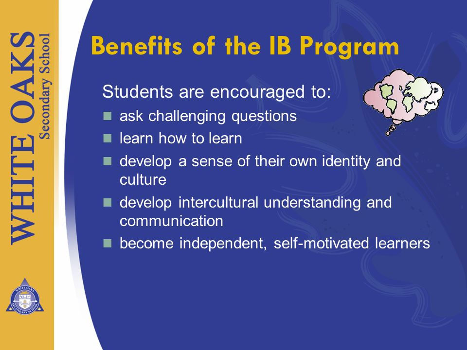 Benefits of the IB Program