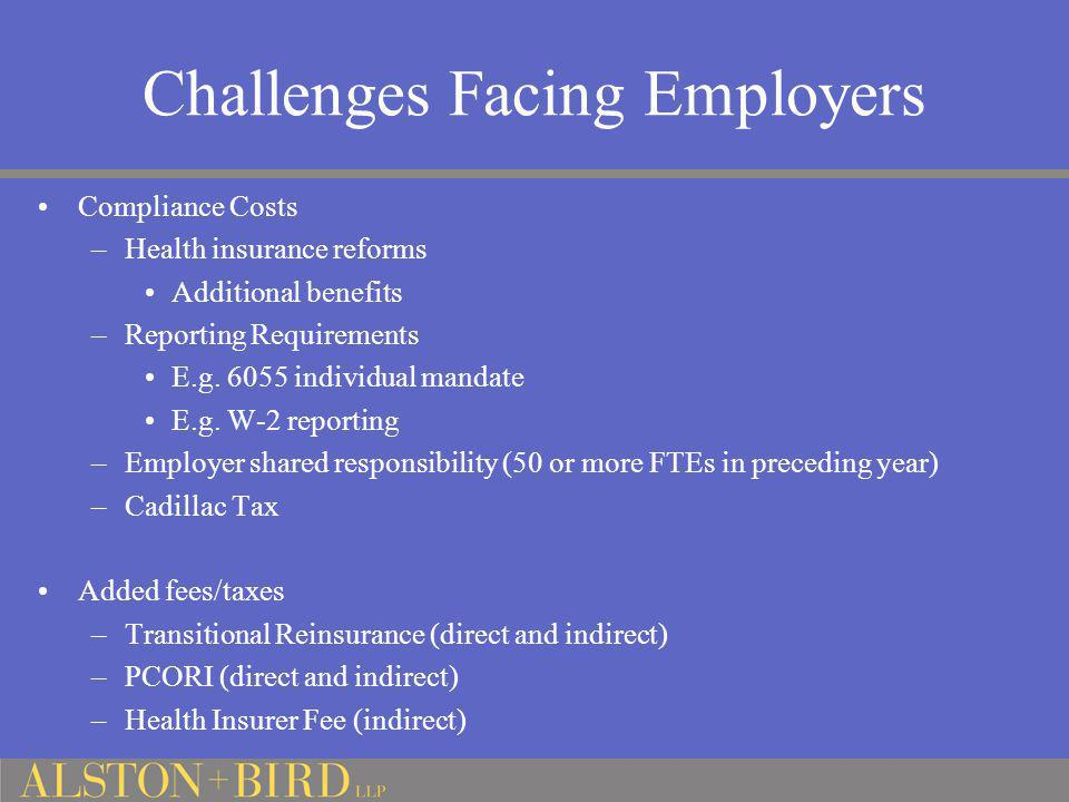 Challenges Facing Employers