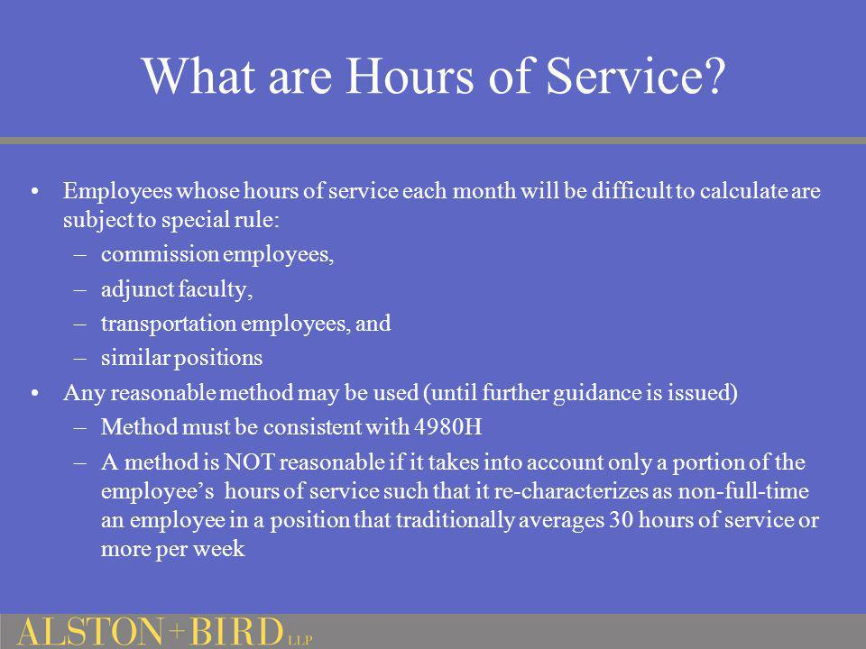 What are Hours of Service