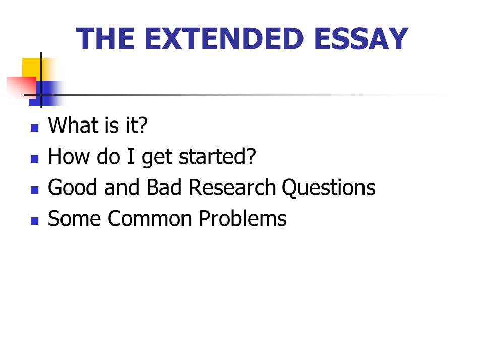 best english extended essays