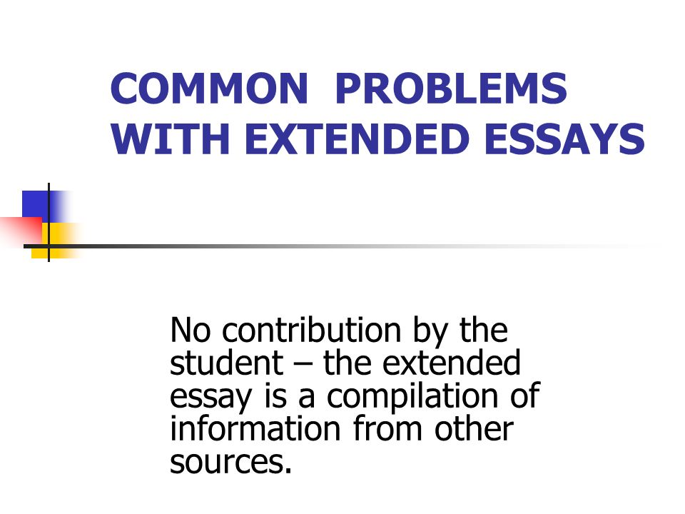 common problems writing essays Writing for academic purposes: problems faced by arab postgraduate students of the college of business, uum fadi maher saleh al-khasawneh 2 in the academic context, dudley-evans & st john (1998) point out that the students are required to produce specific writing genres such as essay.