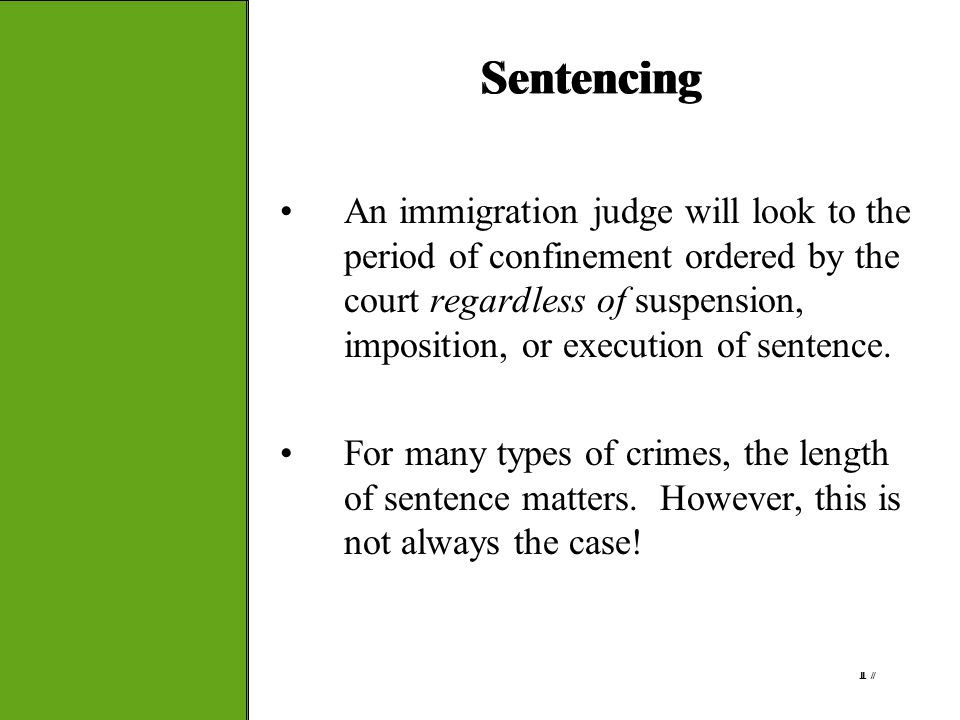 Sentencing Sentencing