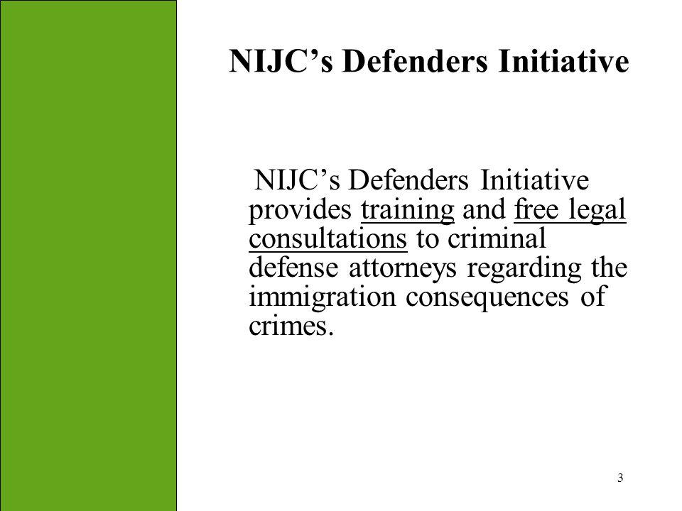 NIJC's Defenders Initiative