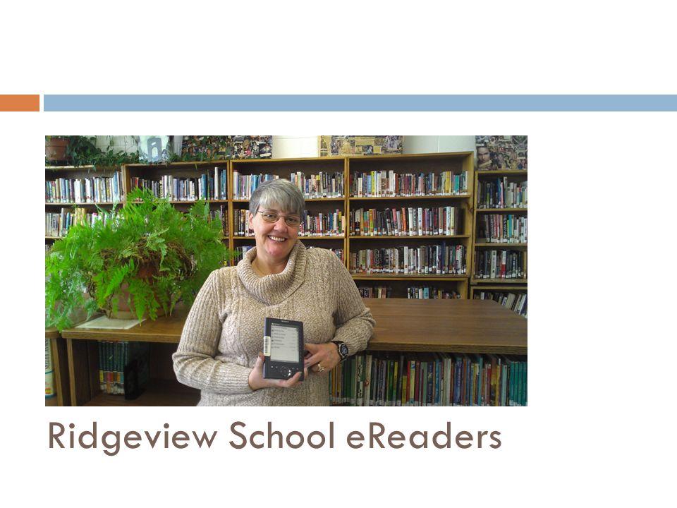 Ridgeview School eReaders