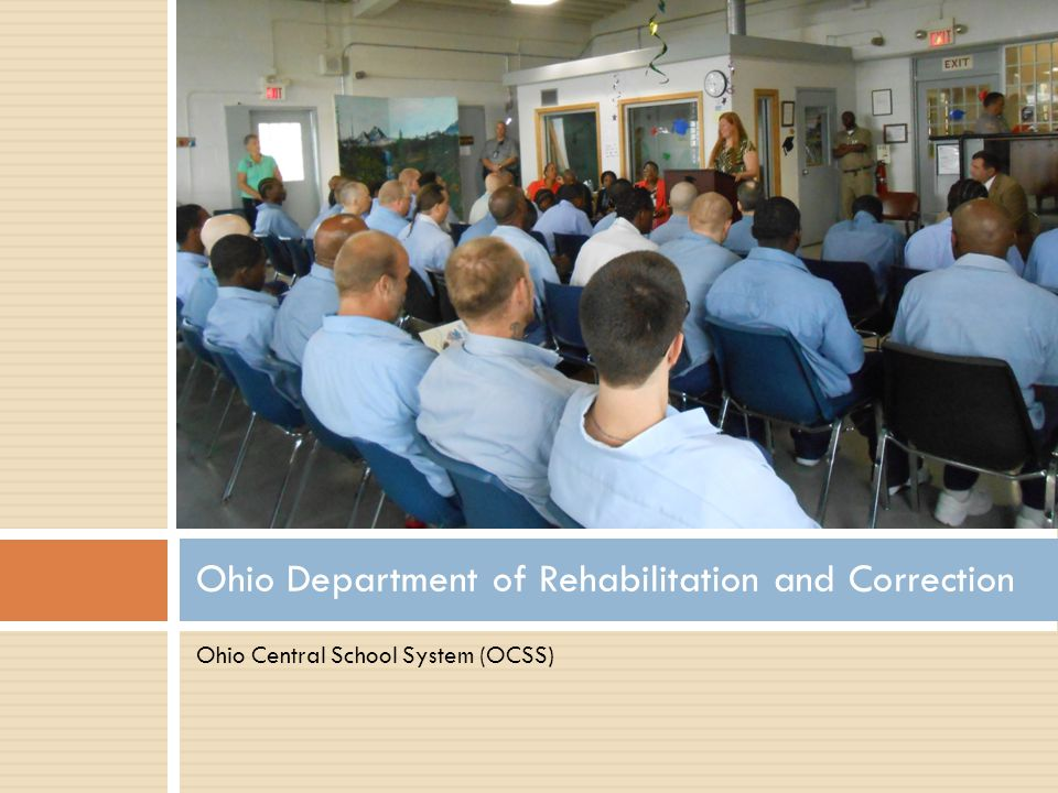 Ohio Department of Rehabilitation and Correction