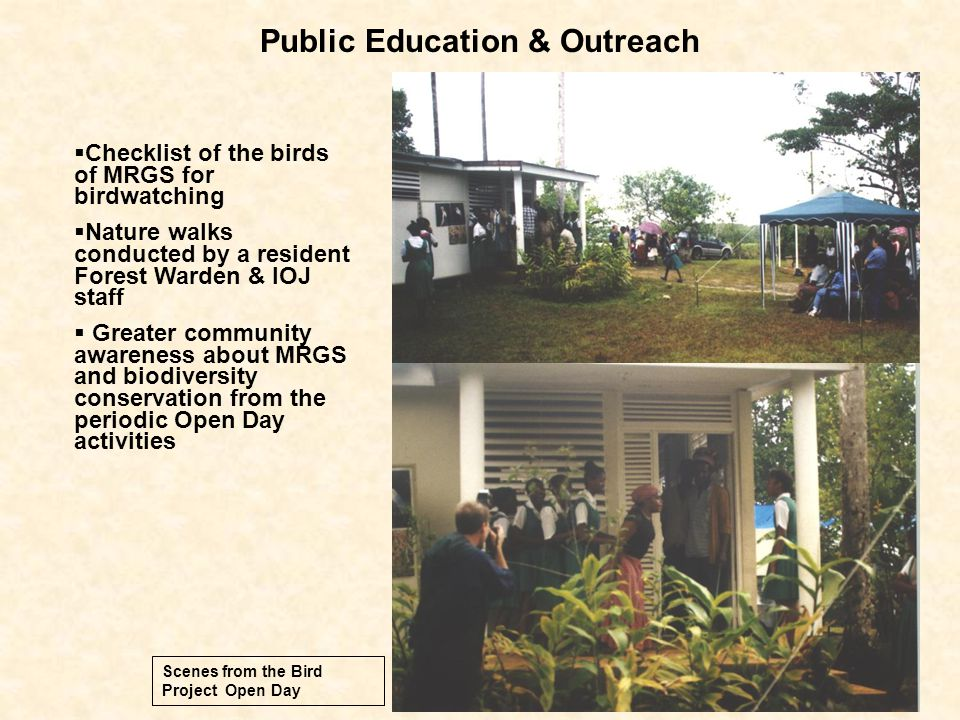 Public Education & Outreach