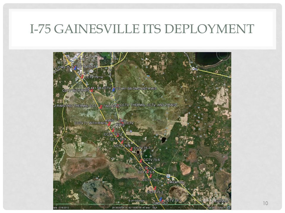 I-75 GAINESVILLE ITS DEPLOYMENT
