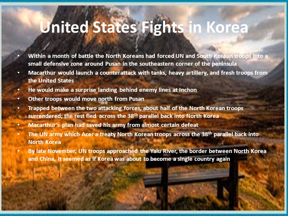 United States Fights in Korea