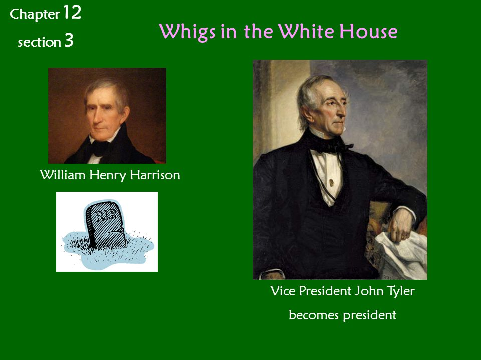 Whigs in the White House
