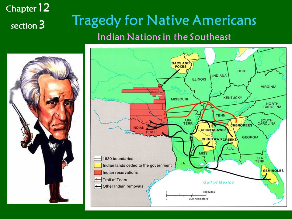 Tragedy for Native Americans Indian Nations in the Southeast