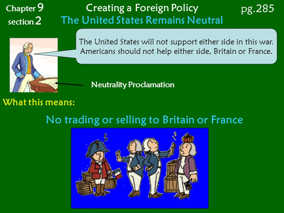 No trading or selling to Britain or France