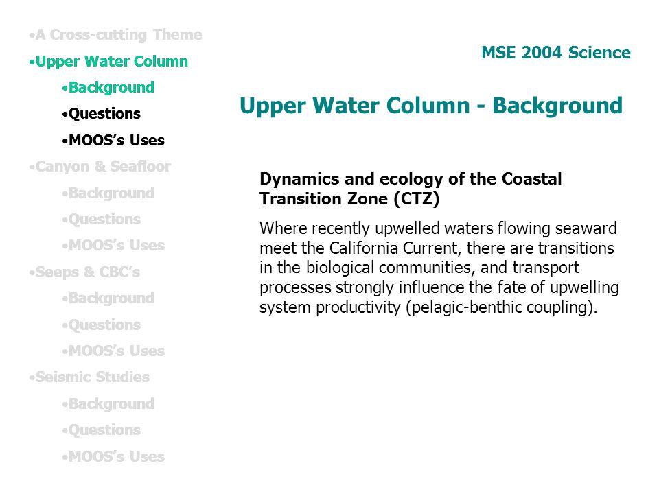 Upper Water Column - Background