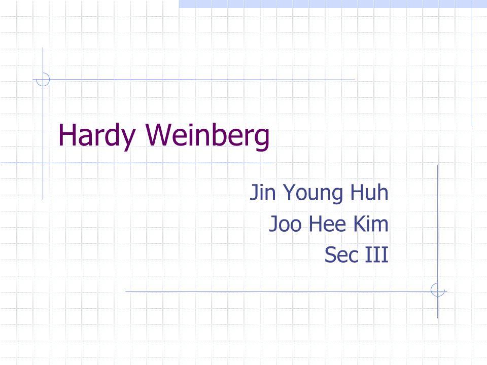 Jin Young Huh Joo Hee Kim Sec III