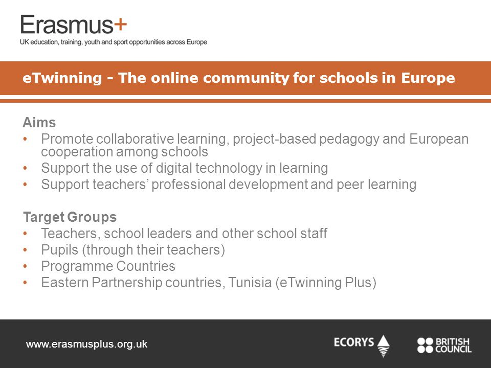 eTwinning - The online community for schools in Europe