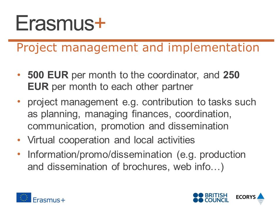 Project management and implementation